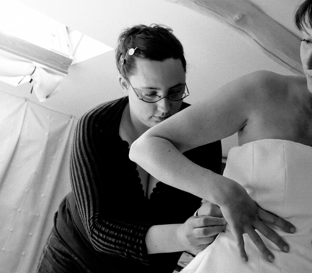 Créatrice de robes de mariée sur mesure