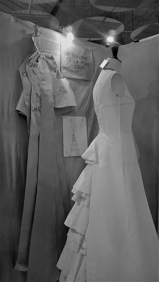 toile prototype Candeur robe de mariée